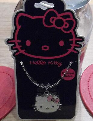 Hello kitty Enamel key ring Pink Bow    FREEPOST  *UK SELLER*