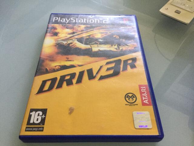 driver 3 sur playstation 2