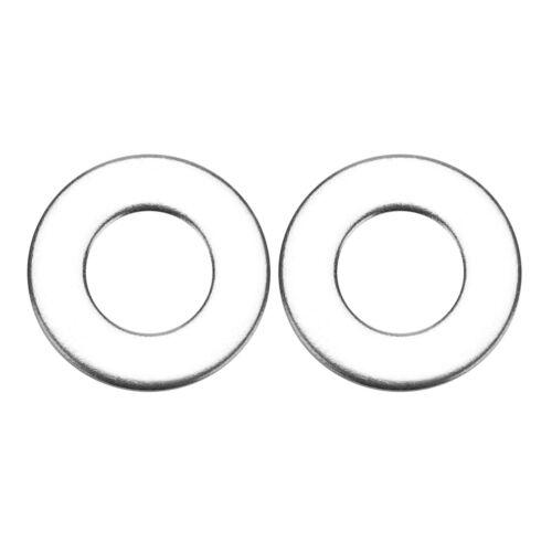 110 Stücke Edelstahl Unterlegscheiben Beilagscheiben Flachscheibe Sortiment Kit