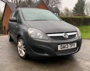 2013 Vauxhall Zafira Exclusiv 1.6 petrol - Metallic Grey - Full 12 month MOT