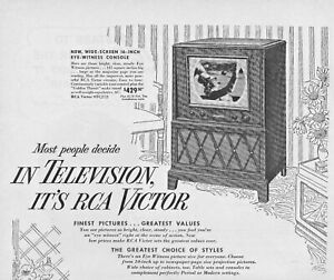 1949-RCA-Victor-Television-Vintage-Print-Ad-Finest-Pictures-Greatest-Values