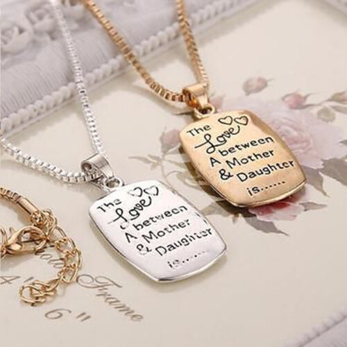 Charm Cute Between A Mother and Daughter Pendant Necklace Mother/'s Day Gift