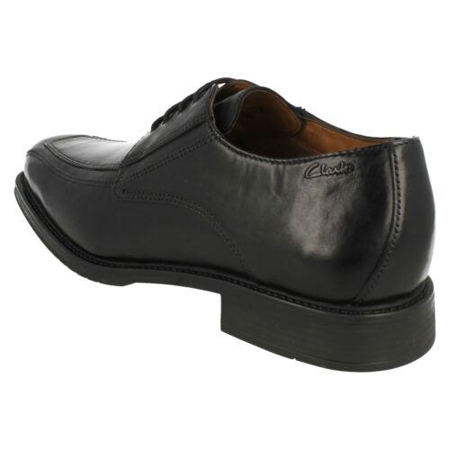 12 Driggs G Negros Piel De Clarks Zapatos Con Sizes Cordones Ajuste 7 Hombre OqzATxSwnO