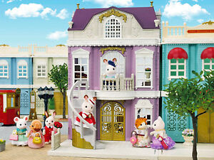 Sylvanian-Families-Calico-Critters-Town-Series-Elegant-Town-Manor-Deluxe-Set