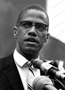 "8x10 Print Malcolm Little ""Malcolm X"" 1961 American Muslim ..."