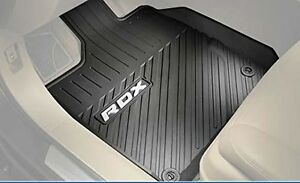 Genuine OEM Acura RDX All Season Floor Mats BASE Way - Acura rdx floor mats