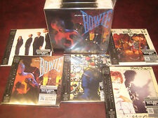 DAVID BOWIE LET'S DANCE REPLICA JAPAN OBI 5 CD'S LIMITED RARE BOX ONE TIME PRICE