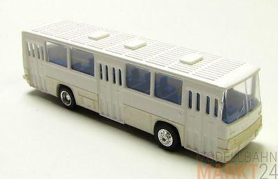 SES Ikarus 260 Nahverkehr Bus Ostblock-Farben dunkelorange rotbraun rot H0 1:87