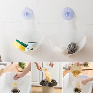 Reutilisable-Salle-Egouttage-Rangement-Cuisine-Evier-Pliable-Filtre-Simple