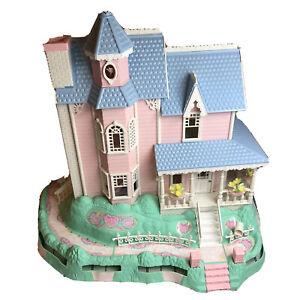 Vintage-Precious-Places-RARE-Fisher-Price-Magic-Key-Mansion-WORKS-Dollhouse