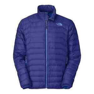The North Face Santiago Jacket   A13Z VA6 Volt Blue 600 Down Fill ... c9c0d7761