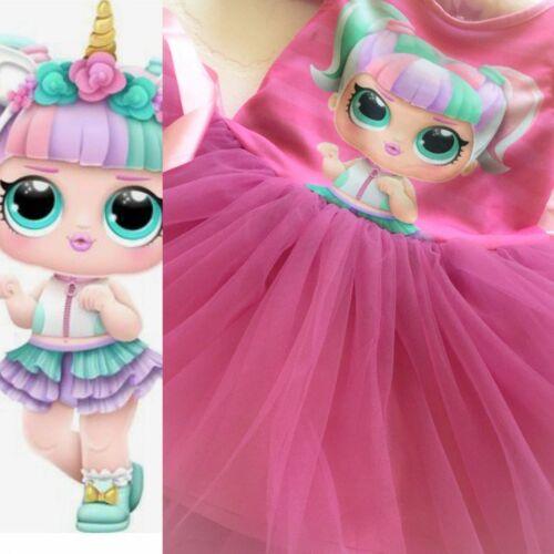 PRINCESS LOL COSTUME LOL BABY GIRL CHILDREN DRESS BELLY SCARED BIRTHDAY COSTUME