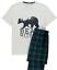 George MEN/'S Pigiama Set Manica corta set regalo gamba lunga