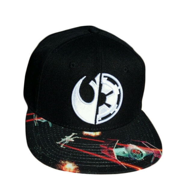944501d65cb RARE Unique Star Wars Rogue One Empire   Alliance Graphic Snapback ...