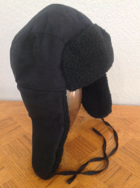 ec93acea12f2a Nine West Hat Curly Faux Fur   Solid Trapper Black 5584 One Size for ...