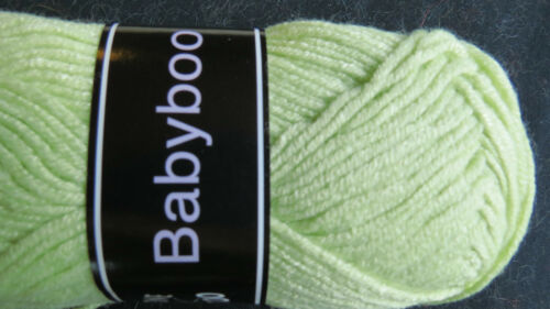"1 sk Knit One Crochet Too /""BABYBOO/"" Knit or Crochet Yarn #521 Pistachio"