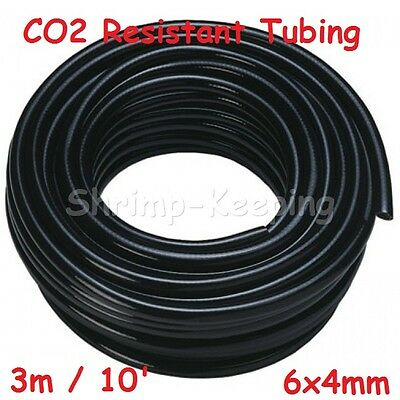CO2 Resistant Proof Black Standard Tubing Aquariums 3/16""