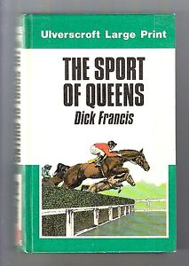 Dick francis large print apologise, but, opinion