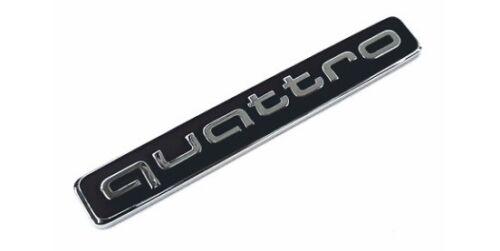 Original Audi Quattro le logo pour la queue a3 a4 a5 a6 a7 a8 q3 q5 q7 q8