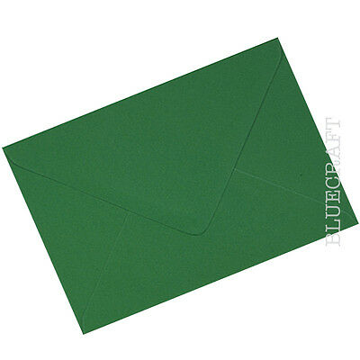 4.48 x 6.38 inches 114 x 162mm 1000 x A6 C6 Fern Green Envelopes 100gsm