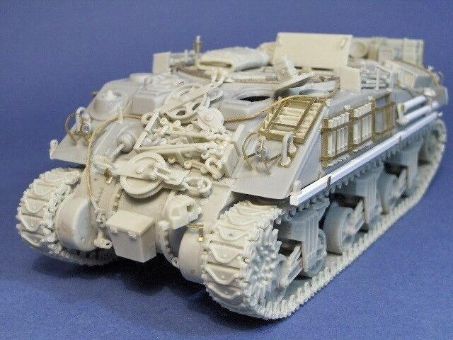 1 35th Resicast WWII British Sherman ARV Mk I conv.