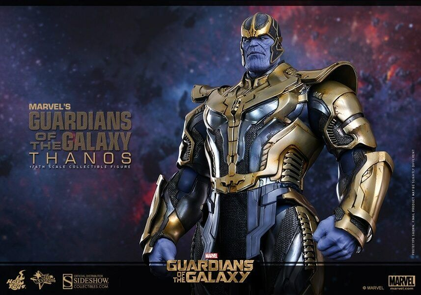 1THANOS HOT TOYS SIDESHOW GUARDIANS OF THE GALAXY no attakus gentle giant MARVEL