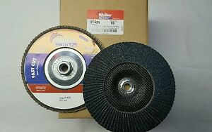 "11 Flap Disc 40 grit 10//box **  Free Shipping ** Weiler 7/"" x 5//8/"""