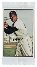 1953 BOWMAN WILLIE MAYS 2015 TOPPS NATIONAL CONVENTION VIP COLOR BASEBALL CARD