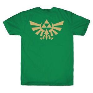 The-Legend-of-Zelda-Tri-force-Symbol-T-Shirt-Green-Nintendo-Game-New