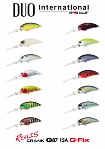 DUO Realis Crank G87 15A fishing lures original range of colors
