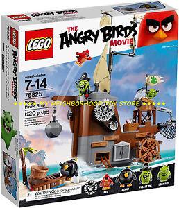 Ret. P. C. - Lego 75825 Angry Birds - Bateau Pirate - Cochon Bateau Piggy - Pirate