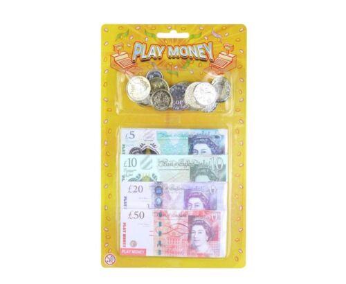 Peterkin Sterling Toy Play Money Set