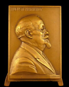 Medal-Auguste-Marteroy-Friends-of-Good-Bock-1928-to-Allioli-by-Cormier-Medal