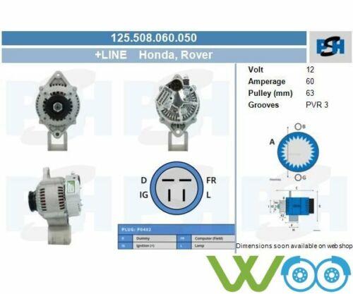 Lichtmaschine Generator 125.508.060.050