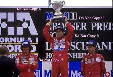Ayrton Senna McLaren MP4/4 Winner German Grand Prix 1988 Photograph 7