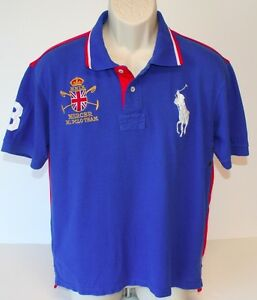 Xl Rl Embroidered Mmix Child Details Lauren Team3 Pony Polo Ralph Shirt About Mercer Yby6f7g