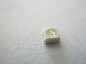 200 SMD LEDs 1206 Weiß pure-weiße SMDs white bianco blanc mini LED cold kalt