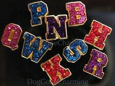 Initials Letter Set of 2 in your choice color Floating charm Fits Living lockets
