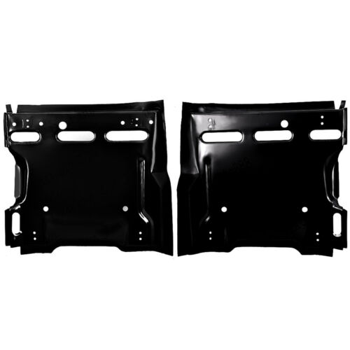 1969 Camaro Friebird Seat Platforms Pair With 2 Sets Of Track Mounting Holes Dii