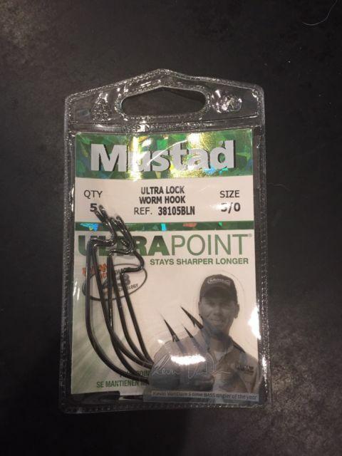Mustad 2//0 Ultra Lock Light Soft Plastic Hooks **VOLUME DISCOUNT*