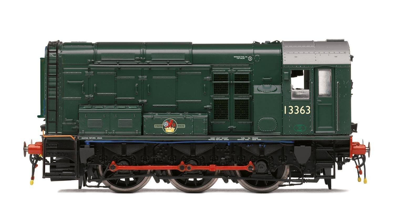 Hornby R3484, tarde BR 0-6-0' 13363' clase 08