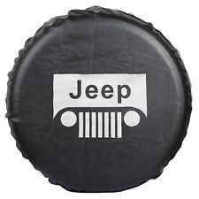 Canvas Jeep RV Liberty Wrangler Spare Wheel Tire Cover For Jeep R15(70CM-75CM)