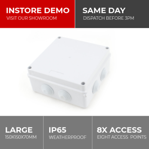 ip65 large waterproof joint outdoor cctv electrical junction box