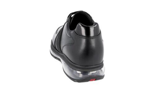 Nouveau 46 46 de 5 Chaussures 12 Air semelle luxe Sneaker avec Prada 4e2746 noires Pwzw7qF