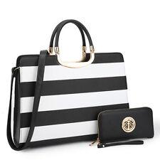 b9320fb54a1a item 6 Women Handbag Faux Leather Work Satchel Briefcase Tote Shoulder Bag  Medium Purse -Women Handbag Faux Leather Work Satchel Briefcase Tote Shoulder  Bag ...