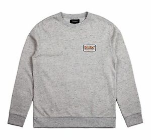 BRIXTON-SUPPLY-CO-PALMER-FLEECE-CREW-HEATHER-STONE