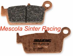 Braking Pastiglie Freno Posteriori Sinter Race Per Suzuki 400 Drz Sm 2005-2009