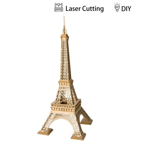 DIY Toys for Children Boys Girls Wooden 3D Puzzle Model Assembly Educational Set