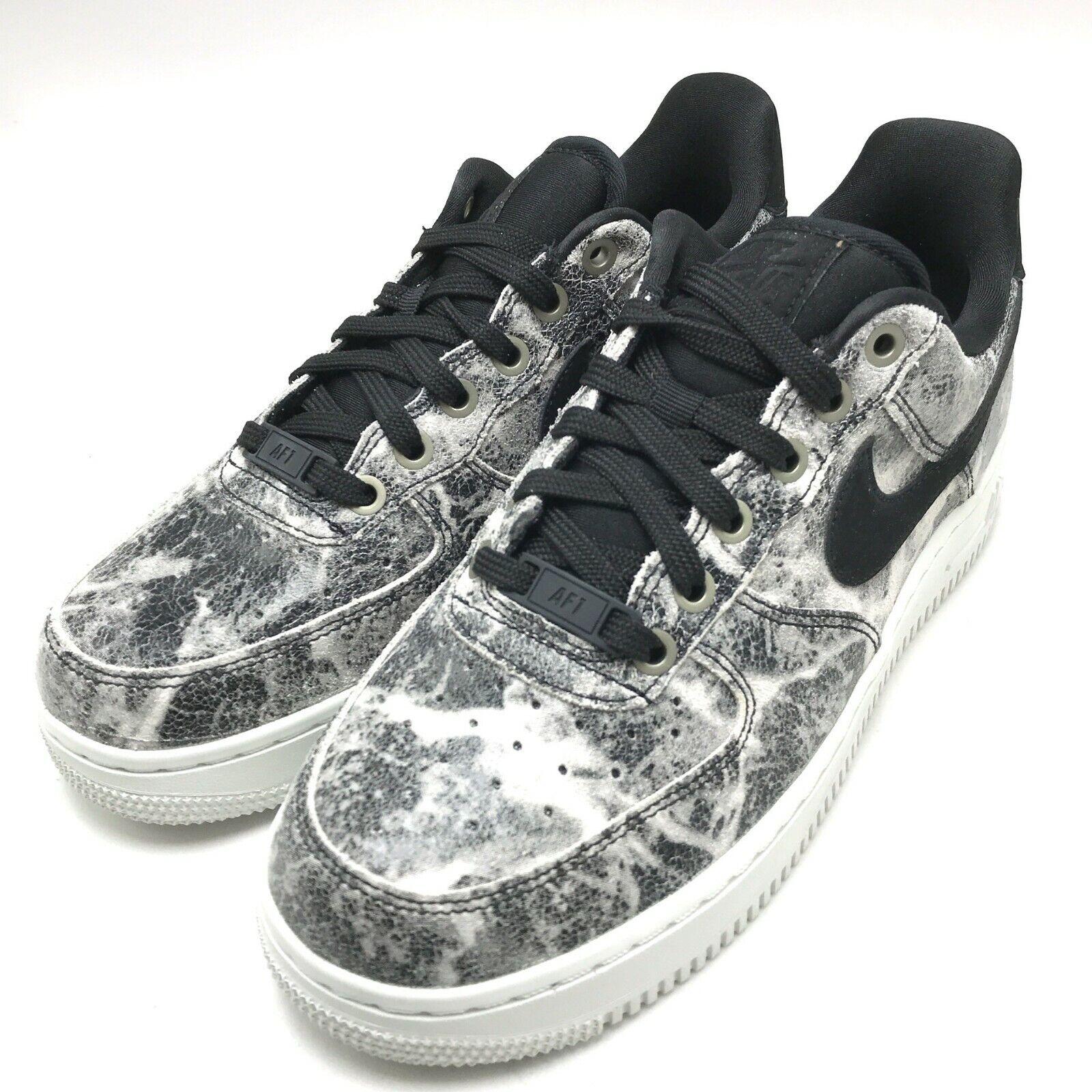 Nike Air Force 1 '07 LXX  Women's shoes Black Black-Metallic Pewter AO1017-001