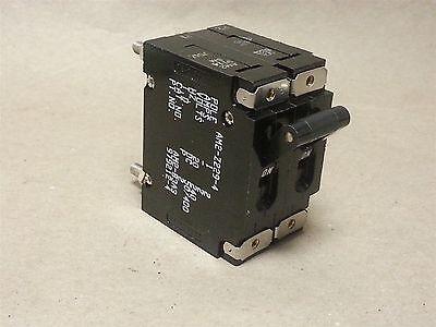 Eaton # AM2-Z229-4 Raytheon # 979212-4 125A Time Delay Circuit Breaker